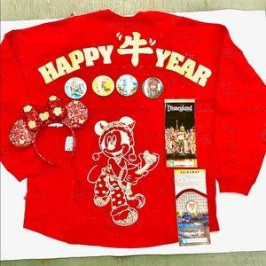 """DISNEYLAND (2021) """"CHINESE NEW YEAR"""" SPIRIT JERSEY"""
